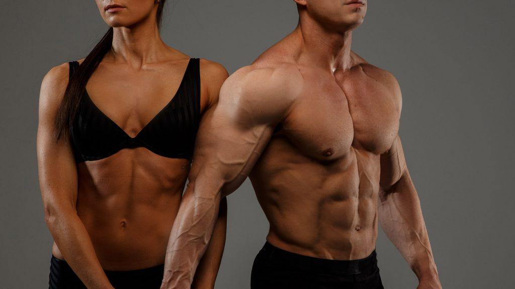 abdominal exercises at gym