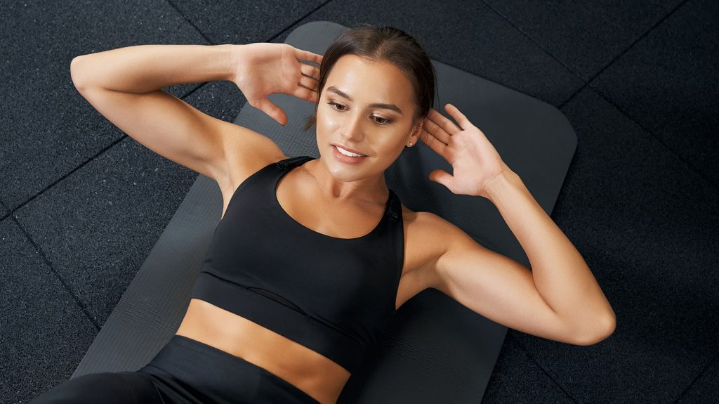 abs workout and exercises at home
