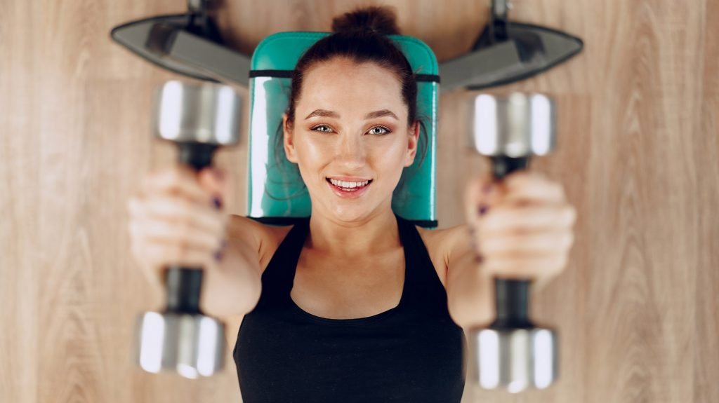 best arm exercises with dumbbells at home