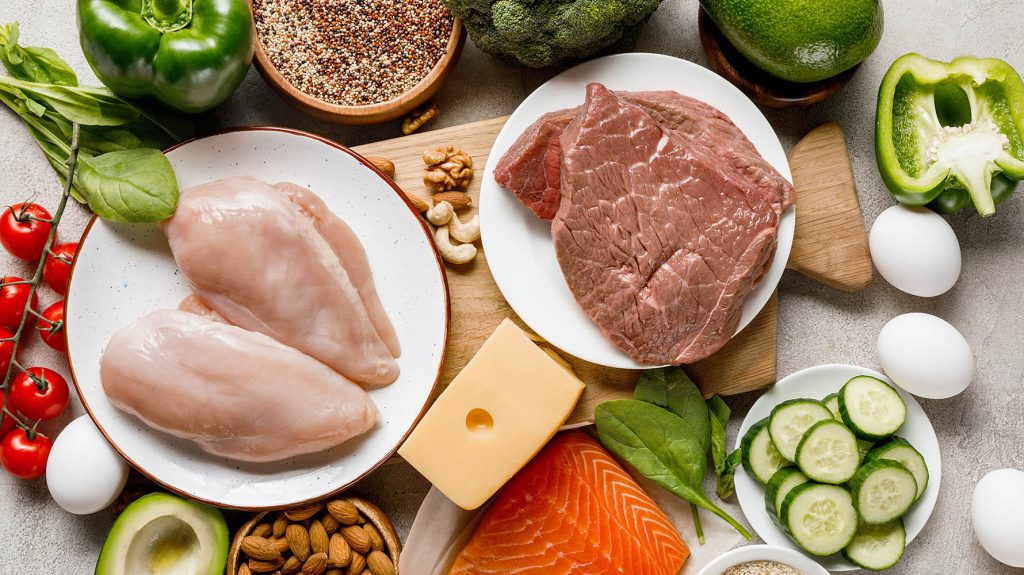 protein food for abs