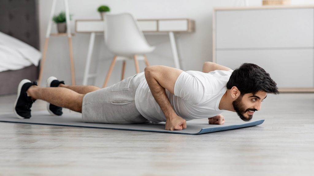 push-ups for arm workouts at home